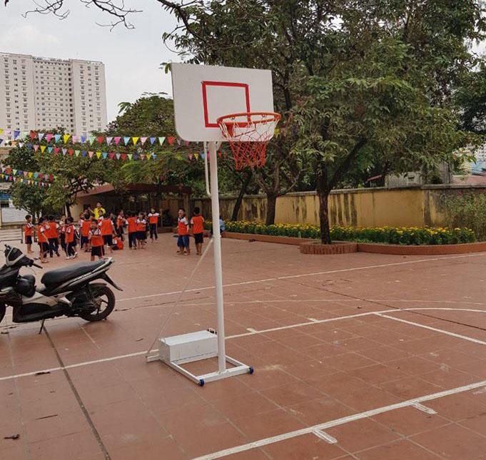 Chia sẻ kinh nghiệm mua trụ bóng rổ cố định