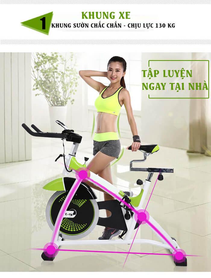 Kinh nghiệm chọn xe đạp tập chân tại nhà