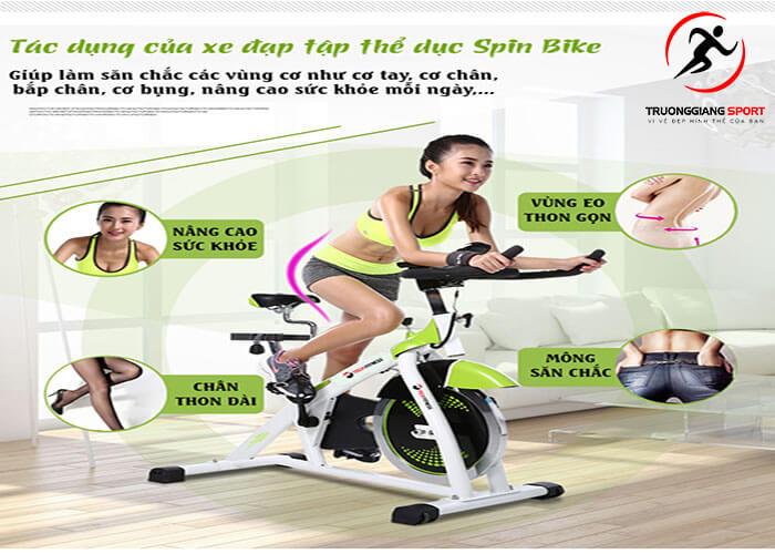 Các bài tập thể dục đạp xe có tác dụng gì cho sức khoẻ?