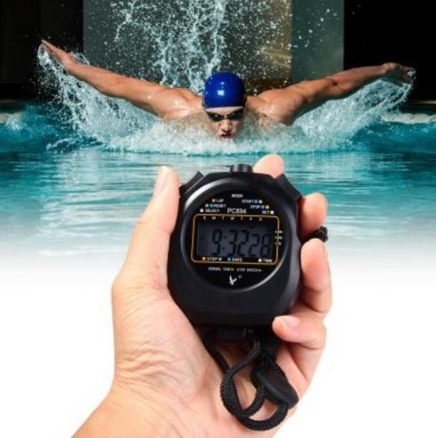 Sử dụng đồng hồ bấm giây PC894 dùng trong bơi lội