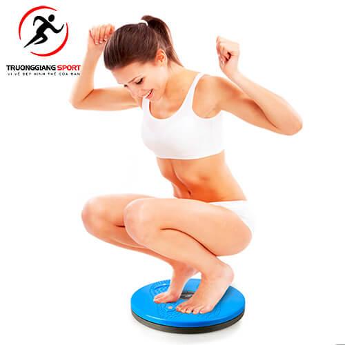 Sử dụng đĩa xoay eo có tác dụng gì với cơ thể