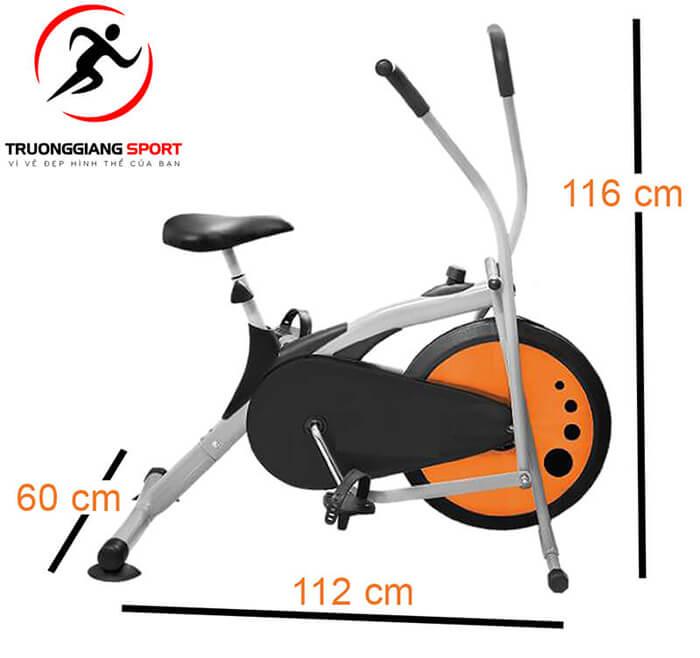 Xe đạp tập thể dục trong nhà Air Bike MK -77