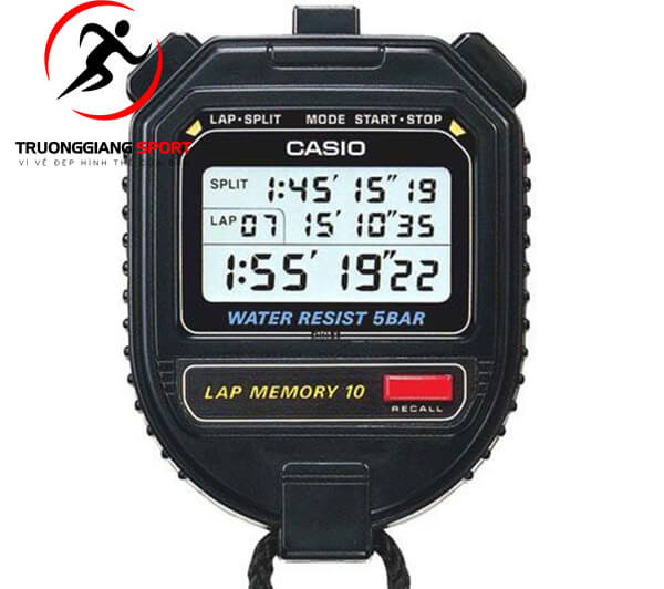 Cách chọn đồng hồ bấm giờ thể thao điện tử chất lượng