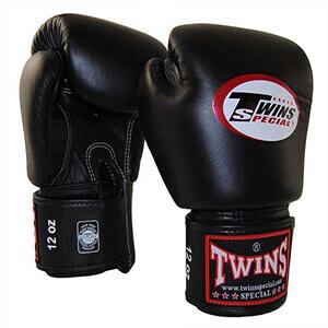 Găng đấm boxing Twins đen