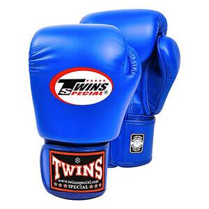 Găng đấm boxing Twins xanh