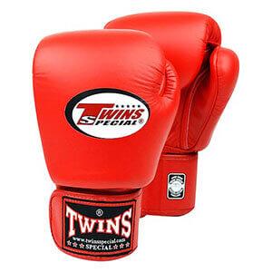 Găng đấm boxing Twins đỏ