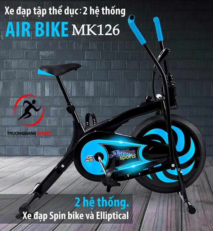 Giải đáp câu hỏi: Xe đạp Air Bike có tốt không?