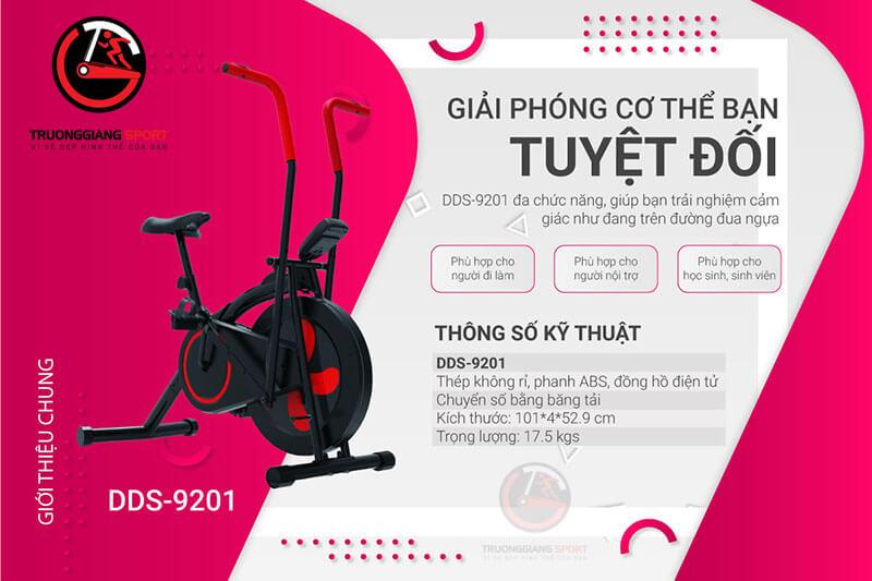 Xe đạp tập thể dục DDS-9201 dành cho người cao tuổi tại Trường Giang Group