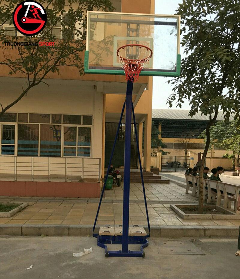 Trụ bóng rổ di động