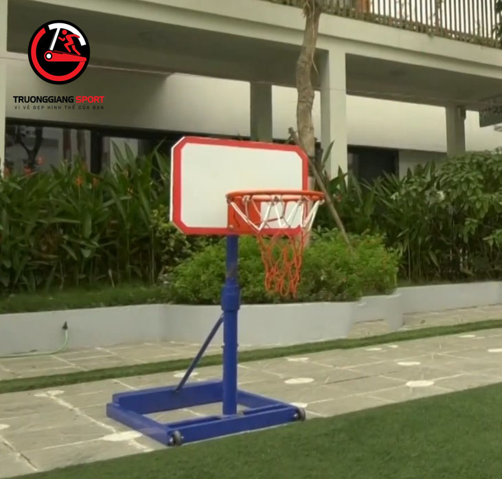 Trụ bóng rổ mẫu giáo tiêu chuẩn