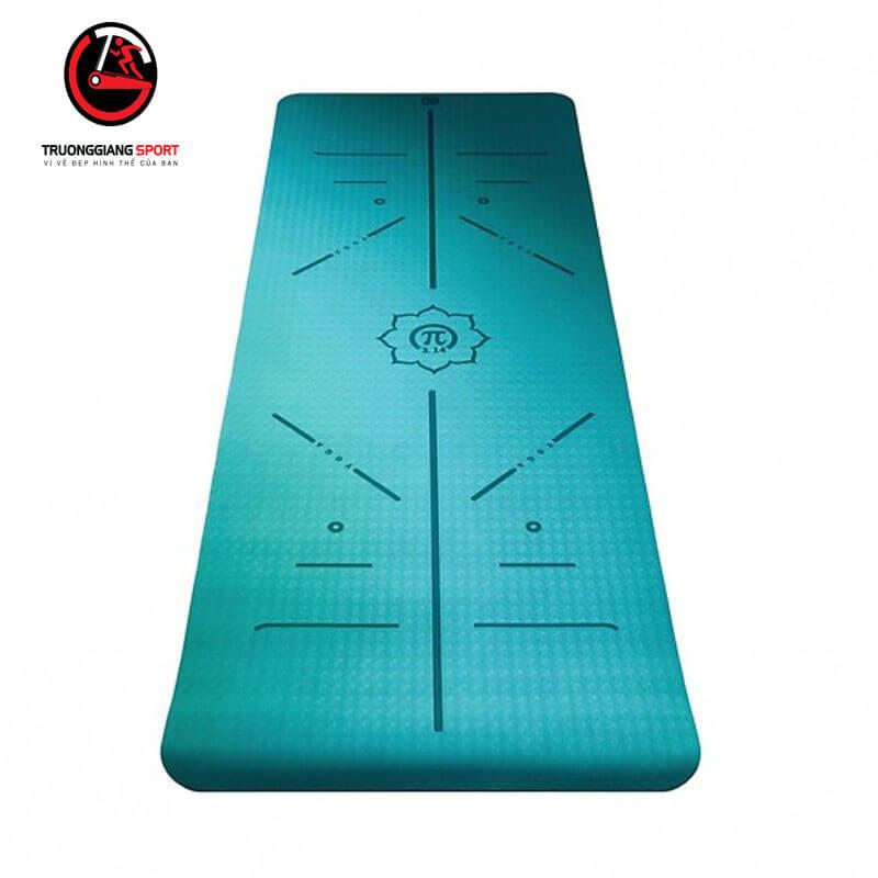 Thảm tập yoga định tuyến 6mm 2 lớp