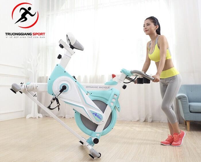 Mẫu xe đạp tập thể dục giảm cân được yêu thích tại Trường Giang Sport