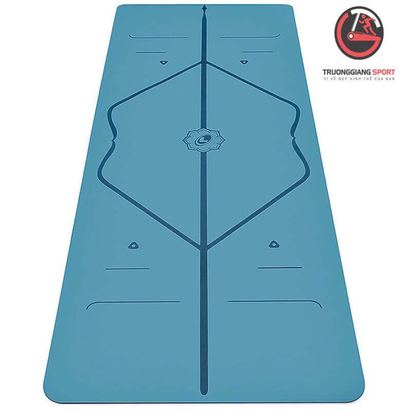 Thảm yoga định tuyến 8mm 1 lớp TPE cao cấp