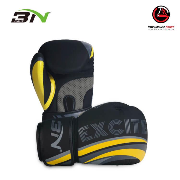 Găng tay boxing Bn EXCITE 2020 – Đen vàng
