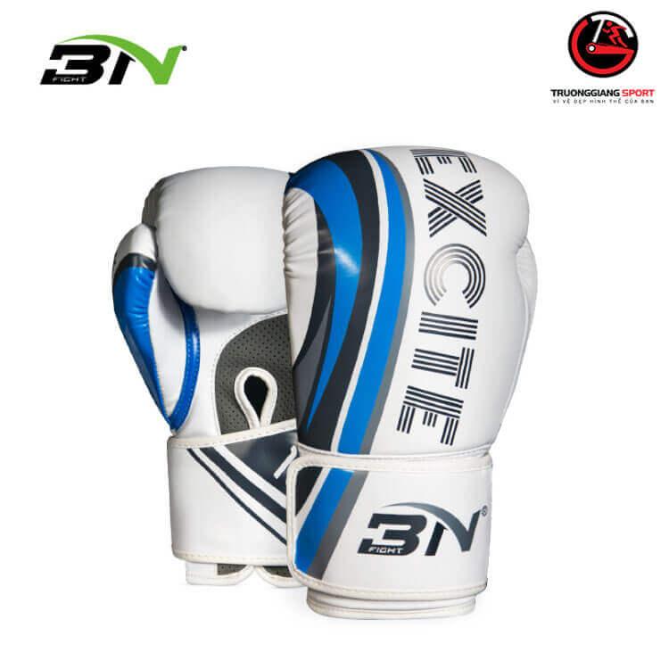 Găng tay boxing Bn EXCITE 2020 -Trắng Xanh