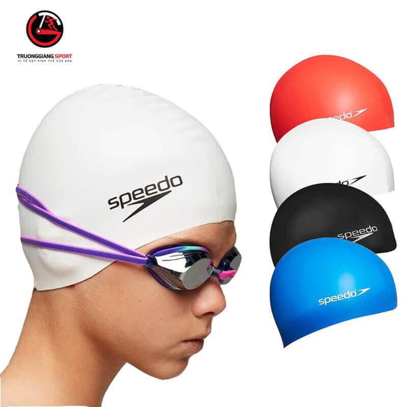 Mũ Bơi Speedo Silicone che tai