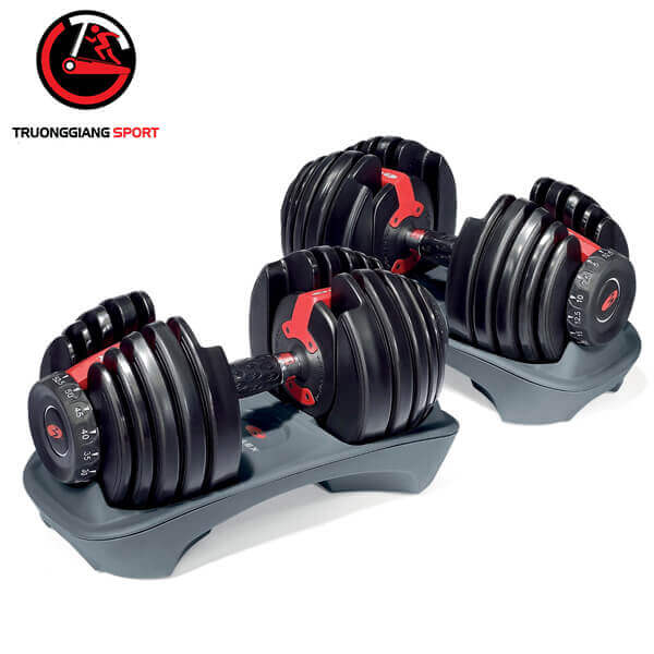Tạ tay điều chỉnh cao cấp Bowflex – Bộ 48kg